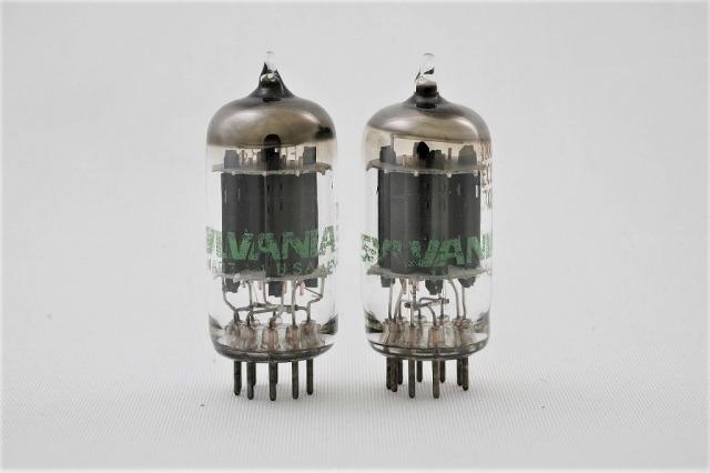 ECC83(12AX7A) SYLVANIA 2本1組