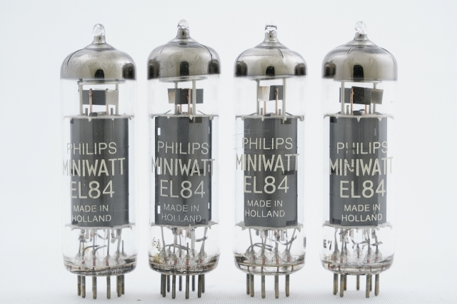 EL84 PhilipsMiniwatt マッチドクワッド