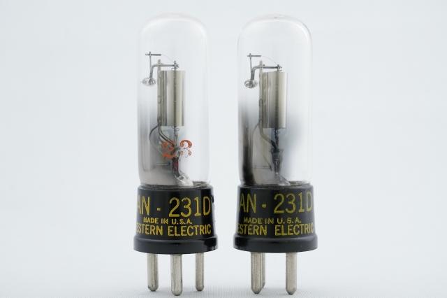 231D Western Electric 2本1組