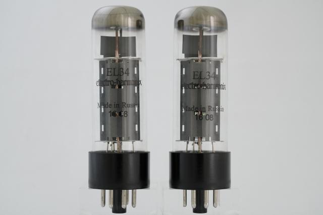EL34 Electro-Harmonix マッチドペア
