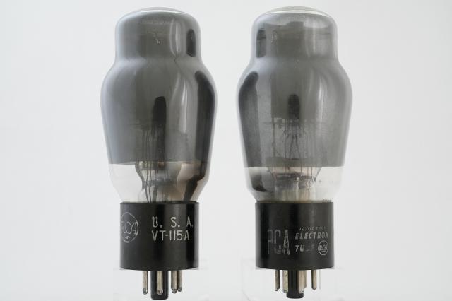 6L6G RCA 自己バイアスマッチドペア