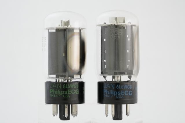 JAN 6L6WGB Philips マッチドペア