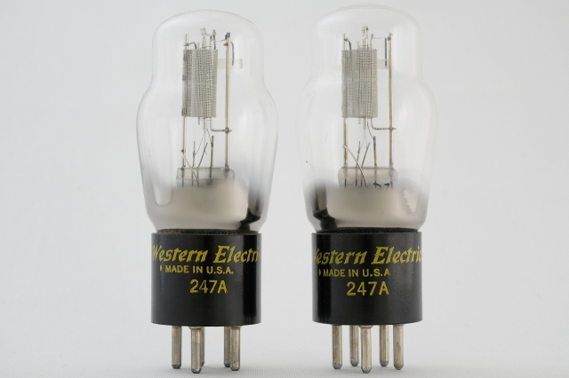 247A Western Electric マッチドペア