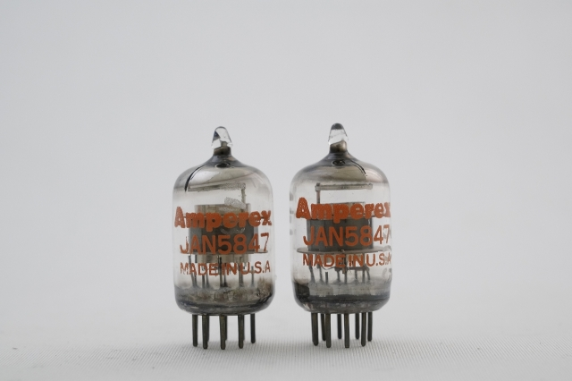 JAN5847 Amperex 2本1組