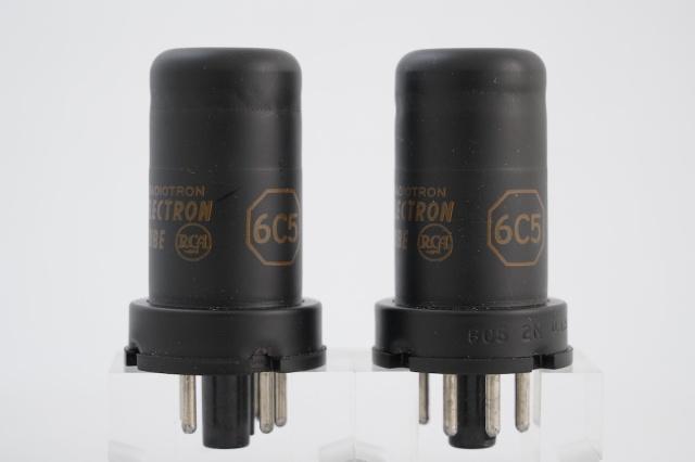 6C5 RCA 2本1組