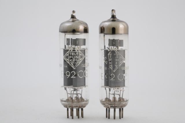 E92CC Telefunken 2本1組