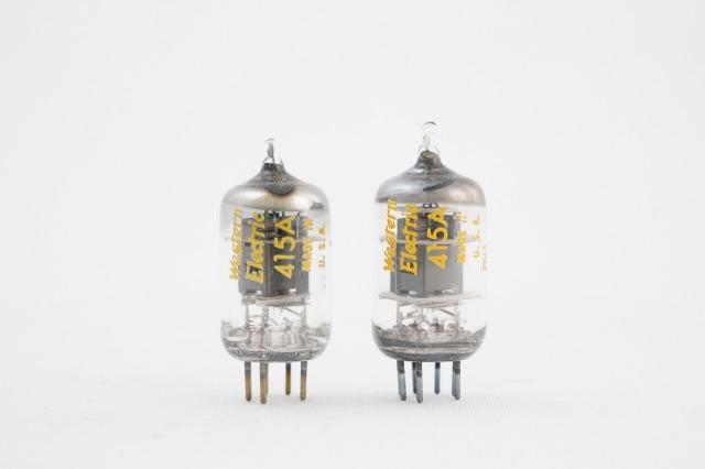 415A Western Electric 2本1組