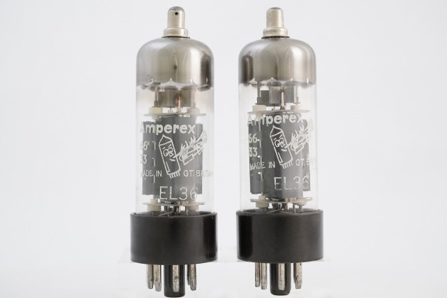 EL36 Amperex マッチドペア