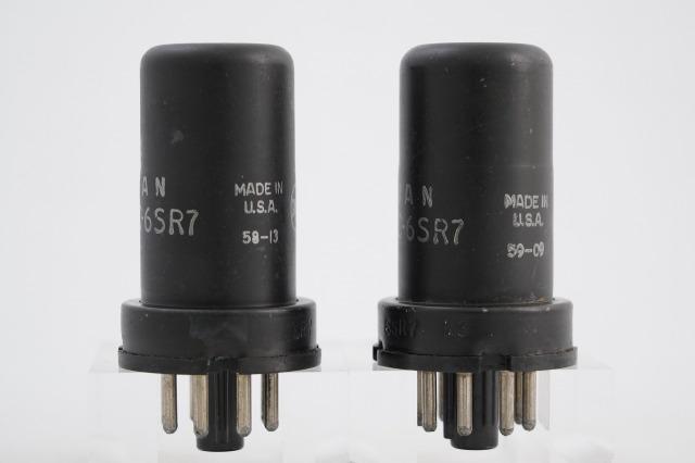 JAN CRC 6SR7 RCA 2本1組