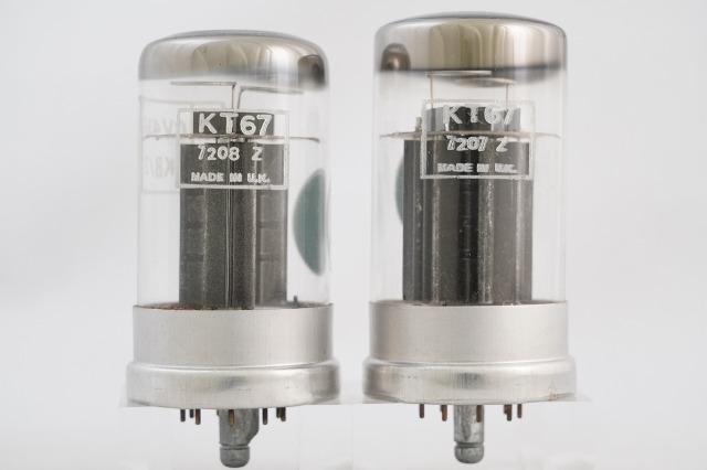 KT67 Marconi マッチドペア