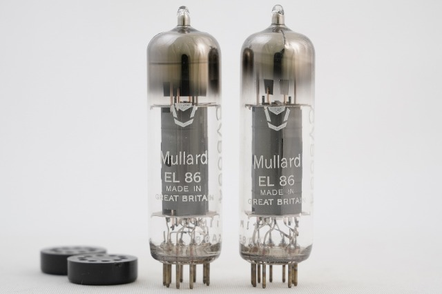 CV5094/EL86 Mullard マッチドペア