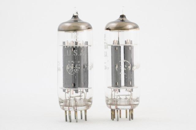 12BH7A General Electric(GE) 2本1組