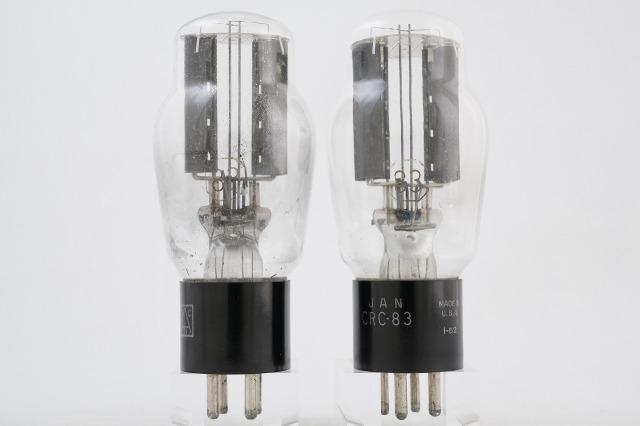 JAN CRC-83 RCA 2本1組