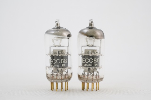 ECC88 Gold Pin Mullard 2本1組