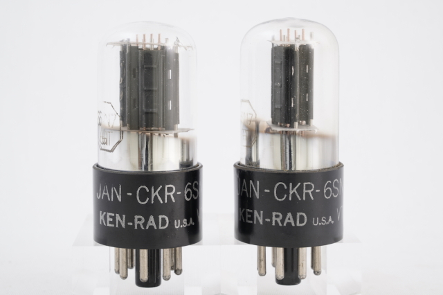 JAN-CKR 6SN7GT/VT-231 KEN-RAD 2本1組