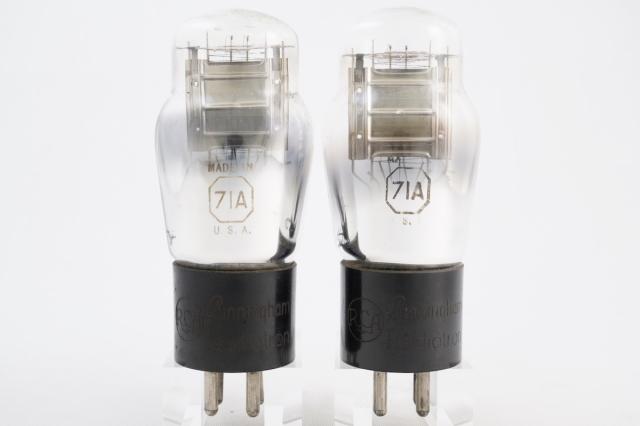 71A RCA 自己バイアスペア