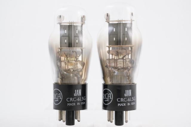 JAN CRC-6L5G RCA 2本1組