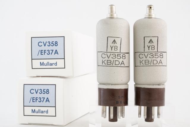 CV358/EF37A Mullard 2本1組