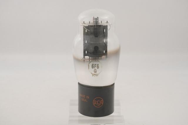 6F6G RCA クリアガラス 1本