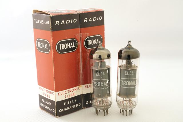 EL84 TRONAL マッチドペア