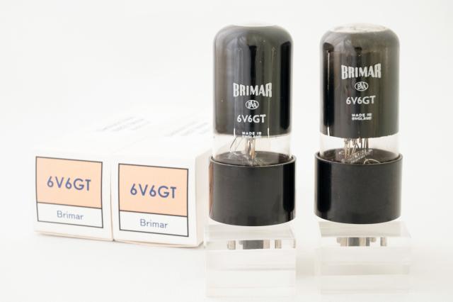 (4)  6V6G Brimar マッチドペア 白ロゴ