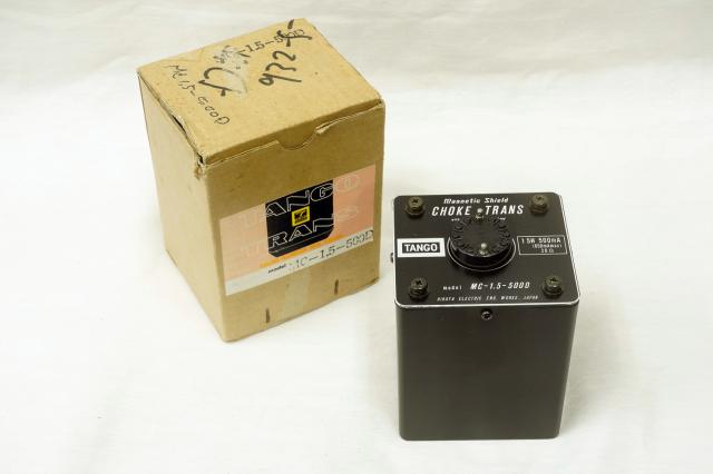 【さらにお値下げしました】MC-1.5-500D TANGO チョークトランス 1
