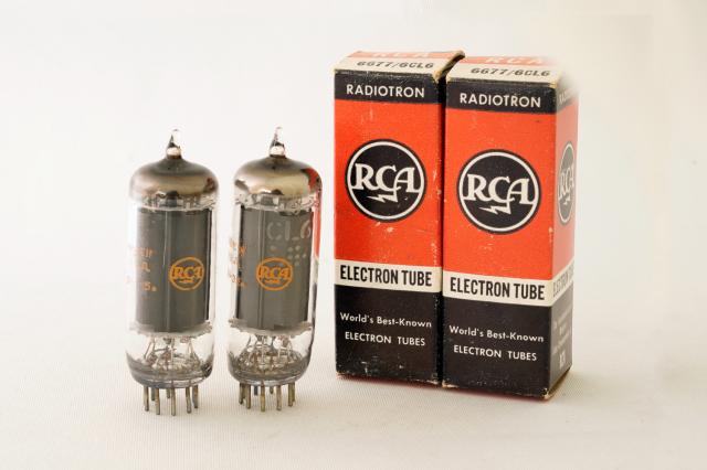 6677/6CL6 RCA マッチドペア