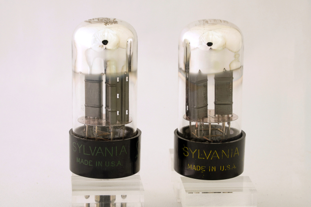 6SN7GTB-SILVANIA 2本1組 ベース色違い