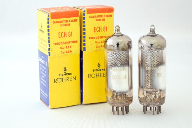 ECH81 Siemens 2本1組