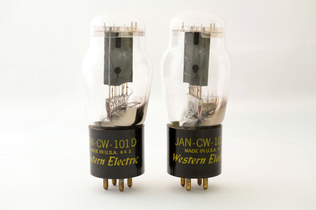 JAN CW 101D Western Electric マッチドペア