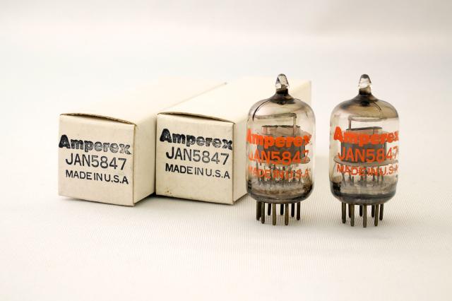 JAN 5847 Amperex 2本1組