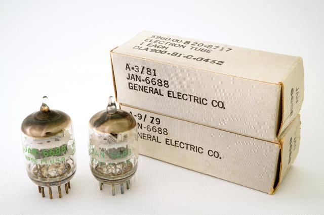 JAN 6688 General Electric(GE) 2本1組