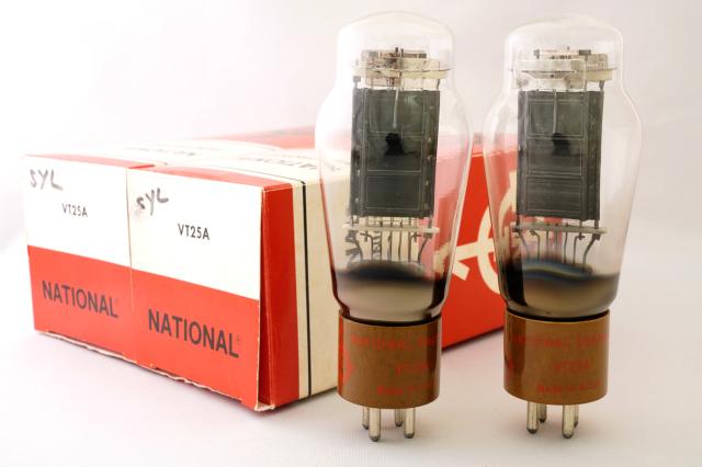 VT-25A NATIONAL ELECTRONICS マッチドペア