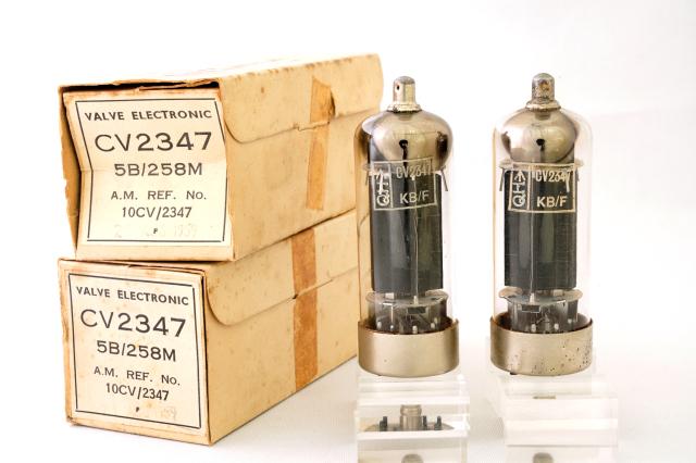 CV2347 5B/258M VALVE ELECTRONIC マッチドペア
