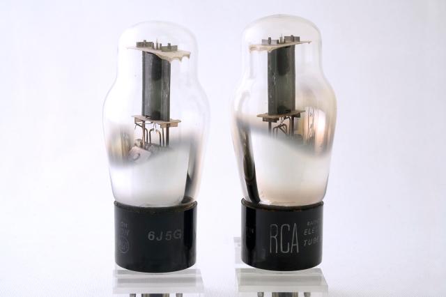 6J5 RCA 2本1組