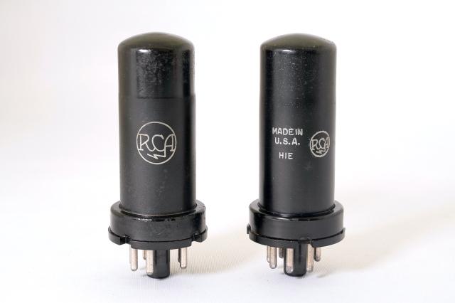 6V6 RCA マッチドペア