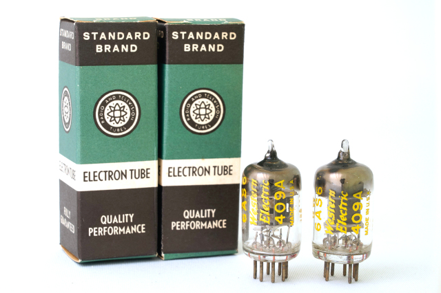 409A Western Electric 2本1組