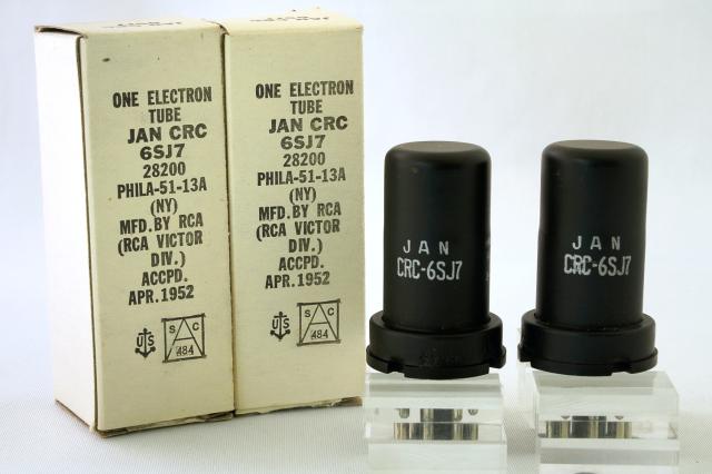 6SJ7 RCA 2本1組