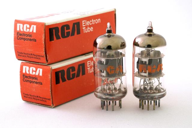 6AN8 RCA 2本1組