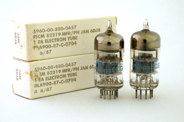 6DJ8  JAN-Philips ECG 2本1組