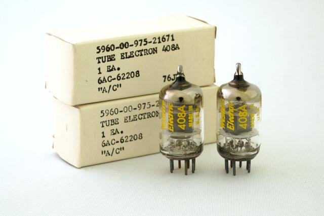 408A Western Electric 2本1組