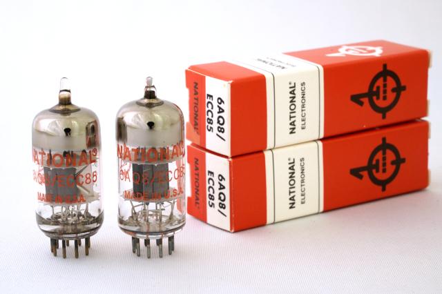 6AQ8/ECC85 National Electronics 2本1組