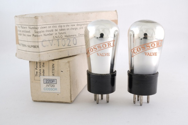 220P/VT20 COSSOR 2本1組