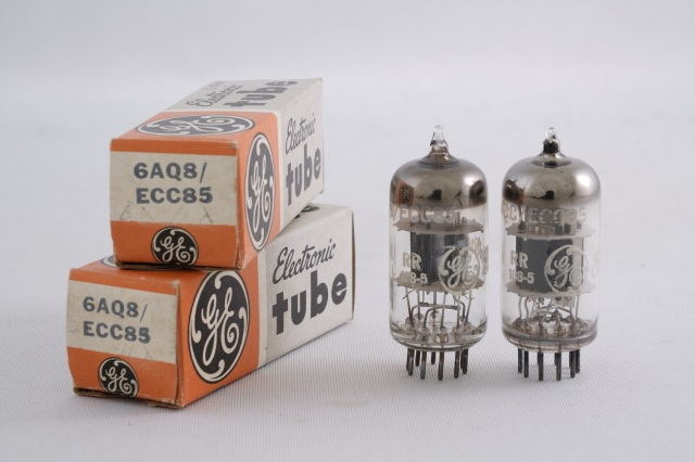 6AQ8/ECC85 General Electric(GE) ペア