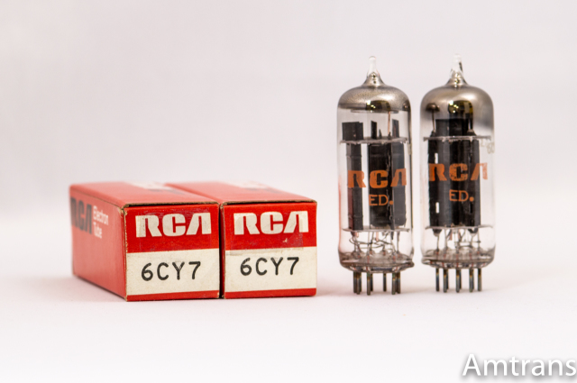 6CY7 RCA 元箱 新品同様 2本1組