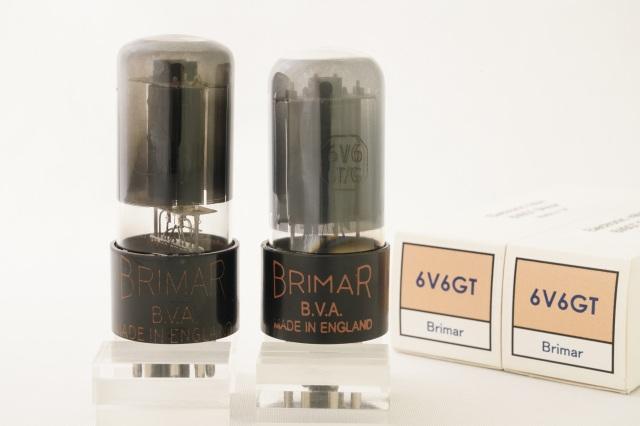 (6)  6V6G Brimar マッチドペア 赤ロゴ