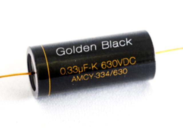 "【New】""Golden Black"" AMCY 0.33μF/630V 高音質 オイルコンデンサー"