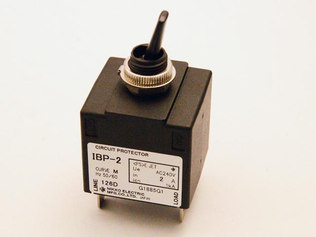 電子機器用低電圧ブレーカー(遮断機)  サーキット・プロテクター スタンダード IBP-2