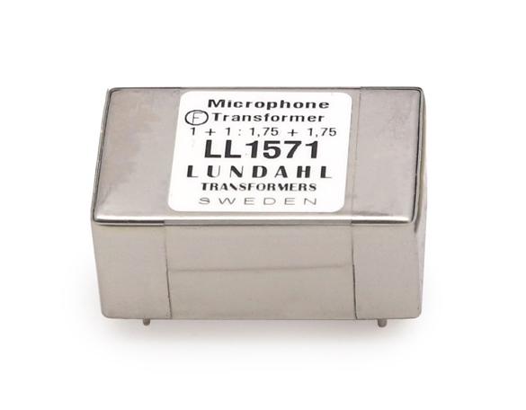 【受注オーダー品】Lundahl (ルンダール) LL1571 マイクロフォン用トランス