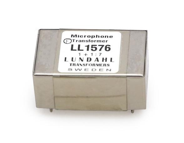 【受注オーダー品】Lundahl (ルンダール) LL1576 マイクロフォン用トランス